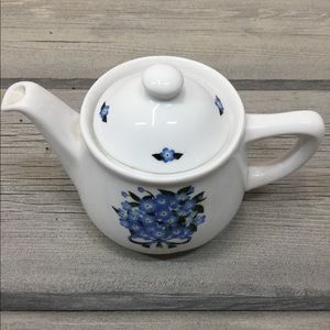 Vintage Alaska State Flower Teapot